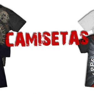 CAMISETAS DIVERSAS
