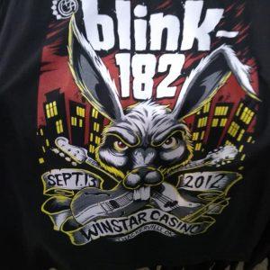 CAMISETA ROCK N ROLL BLINK 182