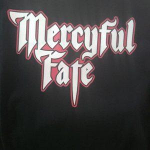 CAMISETA PRETA ROCK N ROLL MERCYFUL FATE