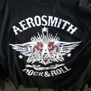 CAMISETA ROCK N ROLL AEROSMITH