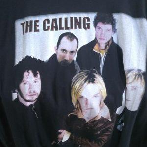 CAMISETA PRETA ROCK N ROLL THE CALLING