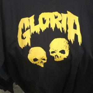 CAMISETA PRETA ROCK N ROLL GLORIA