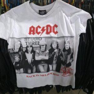 CAMISETA BRANCA AC/DC