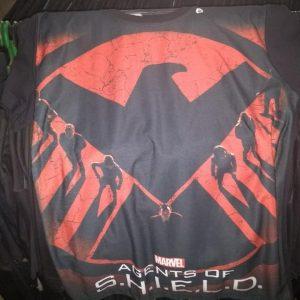 CAMISETAS SUPER HEROIS AGENTES DA SHIELD