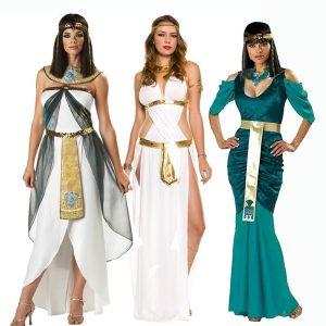 FANTASIAS Cleópatra Rainha dos Árabes Halloween Traje Cosplay Masquerade Performance Costume R$250,00 FRETE GRATIS