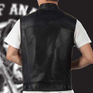 COLETE COURO Veste ocidental do jaqueta de couro do estilo do vaqueiro dos homens R$100,00 FRETE GRATIS