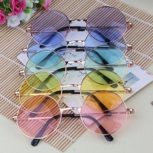 ÓCULOS REDONDO Moda Círculo Óculos De Sol UNISSES R$65,00 FRETE GRAIS