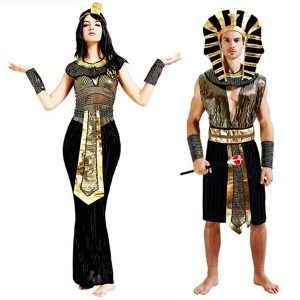 FANTASIA Traje Cosplay do Dia Das Bruxas Adulto Faraó Egípcio Cleópatra Cleópatra Real Roupas Partido R$200,00 cada FRETE GRATIS