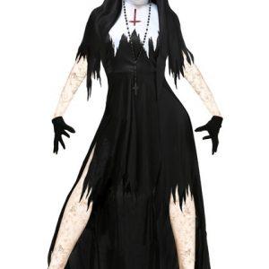 FANTASIA Jamickiki Costume Party Masquerade Novo Dia Das Bruxas Role-playing Vampire Nuns Devil Dress R$220,00 FRETE GRATIS