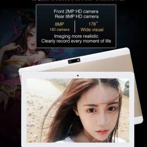 "TABLET 10.1 """" Polegada Octa Núcleo 4G + 64G Android 7.0 WiFi Tablet PC Dual SIM Dupla Câmera traseira 8.0MP IPS Bluetooth MTK8752 3G WiFi Chamada Telefone Tablet Presentes 900,00 900,00 FRETE GRATIS"
