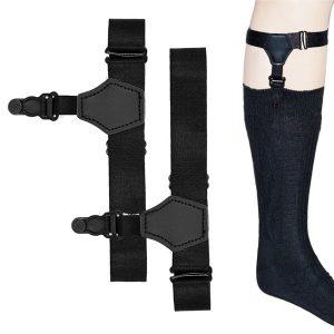 ENGATE Garter-cinta de liga de gancho ajustável de suspensão Garter-cinta masculino liga OEP3 R$50,00 FRETE GRATIS