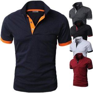 CAMISA Personalidade dos homens Tosp dos homens novos do negócio e camisa confortável de T R$50,00  FRETE GRATIS