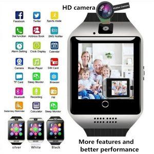 Relógio esperto de Bluetooth da tela de toque para o andróide / IOS / Samsung / iPhone / Huawei / HTC / Sony / nexo  Selecionar Cor Branco Cool & Prateado Branco & Prateado Dourado & Branco Prateado & Preto Dourado & Preto R$150,00  FRETE GRATIS