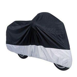 CAPA protetora UV impermeável de nylon da motocicleta com saco L / XL do armazenamento R$160,00  FRETE GRATIS