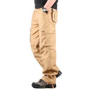 Calças de Carga dos homens Casuais Mens Pant Multi Bolso Militar Geral Homens Ao Ar Livre de Alta Qualidade Calças Compridas R$220,00  FRETE GRATIS SITE aqui www.DUGEZZU.com.br boas compras
