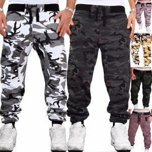 Calças de camuflagem dos homens calças de jogging calças esportivas de fitness esporte jogging exército R$120,00 FRETE GRATIS  SITE aqui www.DUGEZZU.com.br boas compras
