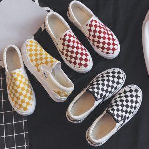 TENIS Women's Fashion Slip on Canvas Loafers Shoes Classic Casual Sneakers Breathable Flat R$160,00 FRETE GRATIS  SITE aqui www.DUGEZZU.com.br boas compras