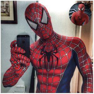 FANTASIA Super hero natal trajes de halloween clássico spiderman raimi cosplay 3d impresso superhero bodysuit R$180,00  FRETE GRATIS