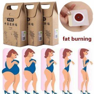 EMAGRECER Medicina tradicional chinesa queima de gordura perda de peso emagrecimento emagrecimento dietas Remendo Magro Saudável Detox Glue Sheet Fat Burning R$30,00  FRETE GRATIS