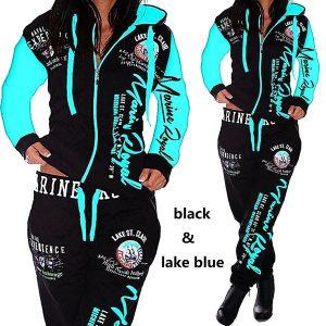 CONJUNTO Senhoras Jogging Jacket Sports Suit R140,00 FRETE GRATIS  SITE aqui www.DUGEZZU.com.br boas compras