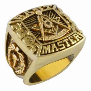 ANEL Punk dos homens de ouro 18 k anel maçônico de aço inoxidável 316l jóias religiosas dos homens de aço inoxidável presente R$35,00  FRETE GRATIS  SITE aqui www.DUGEZZU.com.br boas compras