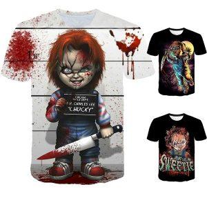 CAMISETA Mais novo filme Chucky boneca Child's Play horror legal designe 3d impressão casual t camisas Das Mulheres Dos Homens Hipster  R$90,00  FRETE GRATIS SITE aqui www.DUGEZZU.com.br boas compras