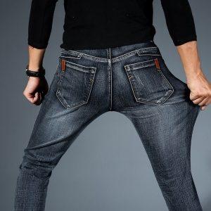 CALÇA  homens de alta qualidade moda casual strench calças jeans plus size preto azul R$140,00 FRETE GRATIS  SITE aqui www.DUGEZZU.com.br boas compras