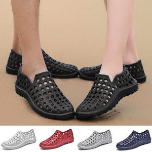 SAPATO Mulheres e Homens de Verão Sandálias Sandálias de Praia Flats Deslizamento em Sapatos Chinelos R$100,00 FRETE GRATIS  SITE aqui www.DUGEZZU.com.br boas compras