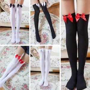 Meias elástico sobre o joelho meias altas meias calças justas com arcos coxa- A2-71117z4 R$35,00  FRETE GRATIS  CADASTRE-SE no SITE Www.DUGEZZU.Com.Br Boas Compras