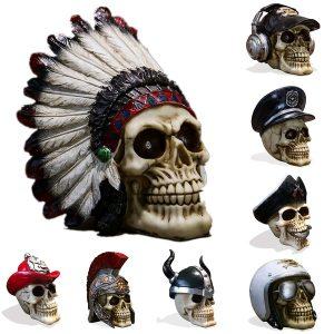 CRANIO Decorações de Halloween Estátua decorativa de crânio humano R$180,00  FRETE GRATIS SITE aqui www.DUGEZZU.com.br boas comprastes