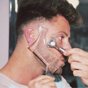BARBA Homens Barba Shaping Styling Modelo Pente Barba dos homens Pentes Ferramenta de Beleza Barba Shaper R$35,00 FRETE GRATIS  SITE aqui www.DUGEZZU.com.br boas compras