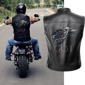 COLETE homens de couro da motocicleta jaqueta colete homens tem primavera jaquetas motorrad gilet preto R$180,00 FRETE GRATIS  SITE aqui www.DUGEZZU.com.br boas compras