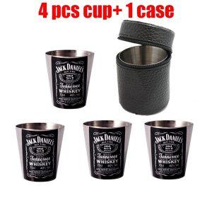 COPO Perfeito Whisky XO Copos De Álcool Mini Copos De Metal Durável Teste de Licor Beber 30 Ml Copos de Transporte Copos Convenientes R$35,00 FRETE GRATIS  SITE aqui www.DUGEZZU.com.br boas compras