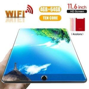 TABLET vermelho WiFi Tablet PC 2560 * 1600 Tela IPS 11.6 \ Inch Dez Núcleo 4G + 64G Android 7.1 Dual SIM Dupla Câmera Traseira 13.0MP IPS novo R$700,00  FRETE GRATIS  SITE aqui www.DUGEZZU.com.br boas compras