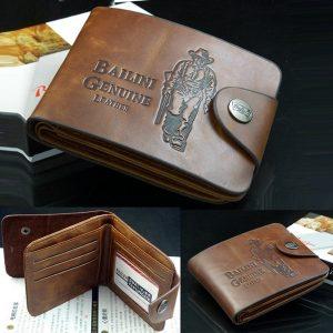 CARTEIRA Os bolsos de couro clássicos dos homens de Zeagoo Credit / ID Card Holder Carteira Purse Wallet Coffee R$70,00  FRETE GRATIS  SITE Aqui Www.DUGEZZU.Com.Br Boas Compras