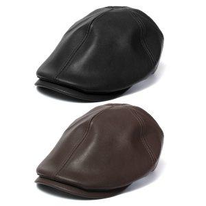 BOINA Hera de couro dos homens cavalheiro Cap Bonnet Newsboy Boina Cabbie Gatsby Flat Golf Hat FRETE GRATIS
