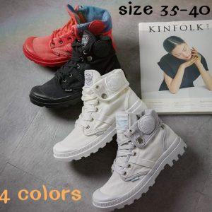 TENIS GX-180111-156 Mulheres Botas Estilo Paládio Moda High-top Ankle Military Shoes Sapatos Casuais FRETE GRATIS