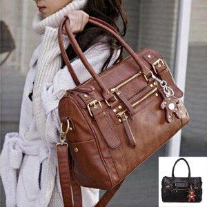 BOLSA Mulheres PU Leather Handbag Shoulder Messneger Bolsa Satchel Hobo Bolsa Tot R$200,00 FRETE GRATIS CADASTRE-SE no SITE www.DUGEZZU.com.br e Boas Compras