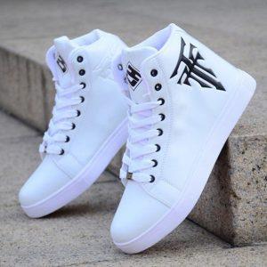 TENIS Homens High Top Sneaker Shoes Homens Sports Shoes Sneakers Skateboard Shoes Basquete R$160,00 FRETE GRATIS CADASTRE-SE no SITE www.DUGEZZU.com.br e Boas Compras