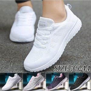 TENIS Sapatos femininos Moda Calçados esportivos respiráveis Tênis leves Tênis casuais FRETE GRATIS