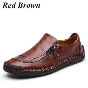 TENIS Cavalheiro Moda Britânica Clássica Retro Casual Sapatos de Couro Tamanho: 38-46 FRETE GRATIS