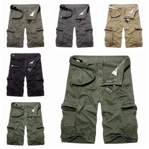 BERMUDA Carga militar tática dos homens que caminha shorts de combate calças de treino casual de verão (sem cinto) FRETE GRATIS