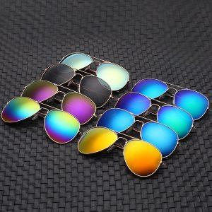 OCULOS 1 pc Clássico clássico do vintage Barato Homem fantasia mulher Unisex lente Espelho reflexivo proteção Esportes sazonais Óculos óculos Óculos Óculos de sol FRETE GRATIS