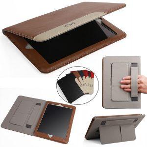 """TABLET ultra fino suporte flip leather case capa para ipad mini 1 2 3 4 & ipad 2 3 4 e 12.9 """"ipad pro & 9.7"""" ipad pro & air 1 2 & novo ipad FRETE GRATIS"""