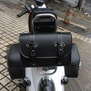 ALFOJE Kit de saco de cauda de motocicleta para acessórios de moto Harley Alforjes para Harley FRETE GRATIS
