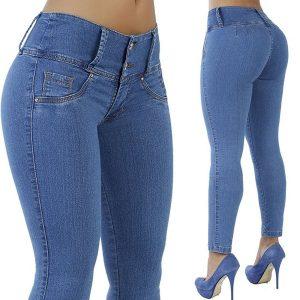CALÇA Jean skinny Jean elástico para modelar as mulheres FRETE GRATIS