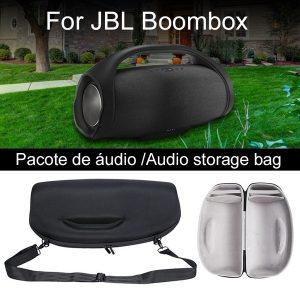 SOM Capa protetora rígida, Capa protetora personalizada para alto-falante JBL Boombox Wireless Bluetooth Speaker – Preto FRETE GRATIS