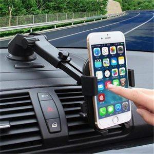 TABLET Suporte da montagem do carro Suporte do telefone celular da montagem do pára-brisa do carro de 360 graus (2STYLE) RETE GRATIS