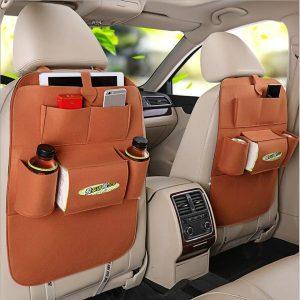SACO Tipo de saco de carro portátil Encosto da cadeira Sacos de transporte de bordo de isolamento de veículos diversos pendurado caixa de armazenamento FRETE GRATIS