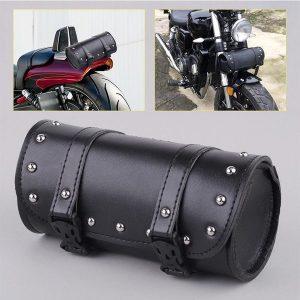 ALFOJE Alforjes da motocicleta universal bolsa de ferramentas de armazenamento lateral de couro à prova d 'água bolsa de bagagem frontal para harley davidson FRETE GRATIS